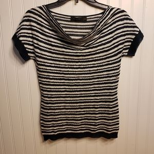 The Limited Stripped Knited Top Blouse Sz XS